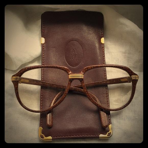 e0bb0810fd6c Cartier Accessories - ⭐ 💯 Authentic Vintage-Cartier Glasses⭐️